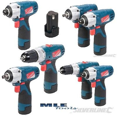 silverline Silverstorm 10.8V cordless Drill Impact Driver Wrench Battery