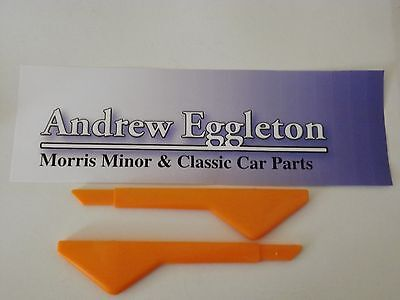 Classic Morris Minor Trafficator Lens Pair