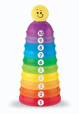 NEW Fisher-Price Brilliant Basics Stack & Roll Cups