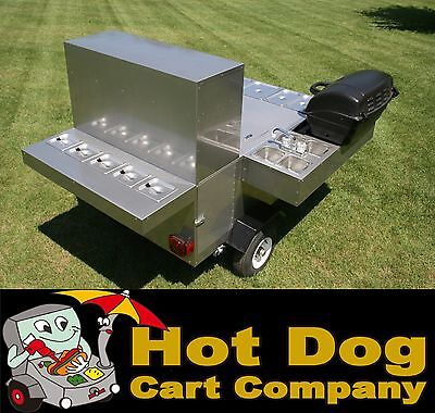 Hot dog cart vending concession stand trailer new Limited Edition model