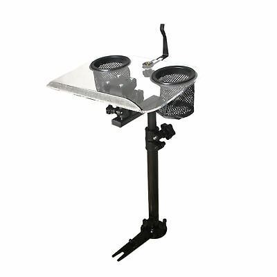 Car Truck Vehicle Police GPS Netbook Laptop Mount Stand Table w/No Drill Bracket