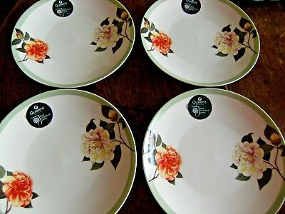 Queens by Churchill Royal Horticultural Society 4 New China Tea/Side Plates 8""