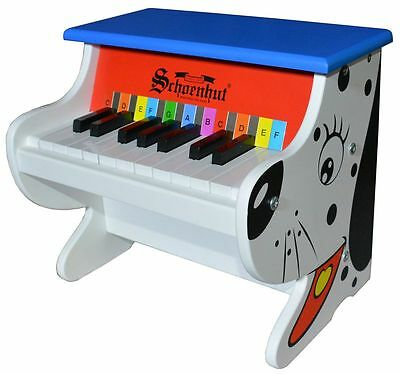 25 Key Electronic Piano for Children by Schoenhut -  Dog Style