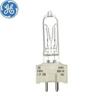 CP81 GE LAMP 240V 300W GY9.5 FSK 88444 theatre lamp 3200k NEW