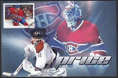 CANADA  #2671.75 - MONTREAL CANADIANS CAREY PRICE on MAXIMUM CARD