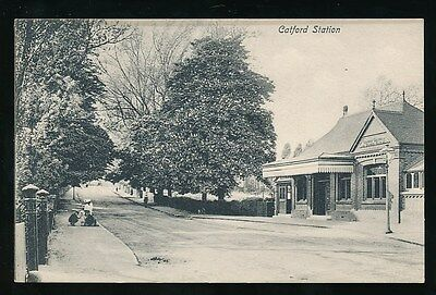 Kent CATFORD Railway Station London Chatham and Dover Railway 1905 PPC