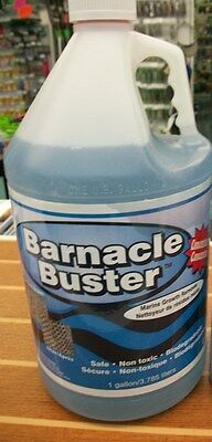 Trac Ecological Barnacle Buster Marine Growth Remover Concentrate Gal.  1206MG