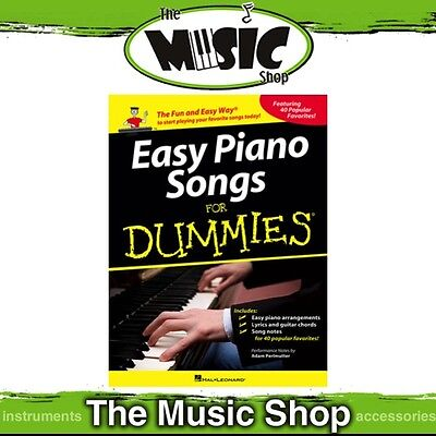 New Easy Piano Songs for Dummies Music Book - Piano Tuition Songbook