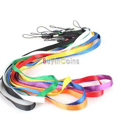 Flat Wrist Strap Lanyard Colorful For Camera Cell phone MP3 MP4 Durable