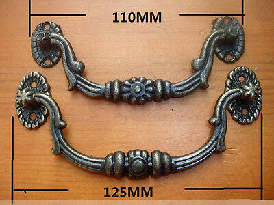6pcs VTG Style Furniture Drawer Handle Jewelry Box Cabinet Pull 110/121/125MM