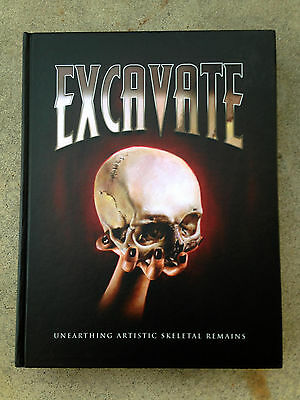 EXCAVATE: Unearthing Artistic Skeletal Remains TATTOO & ART BOOK Tattoos SKULLS