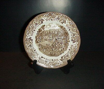 J.&G. Meakin Royal Staffordshire Bread Plate Stratford Stage Ironstone England