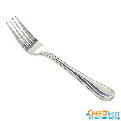 48 PCs Restaurant Quality Stainless Steel Dinner Fork Flatware Jewel