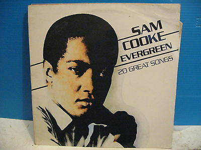 Sam Cooke - Evergreen - 20 Great Songs plus free uk post
