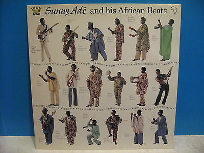Sunny Ade - & His African Beats plus  free UK post