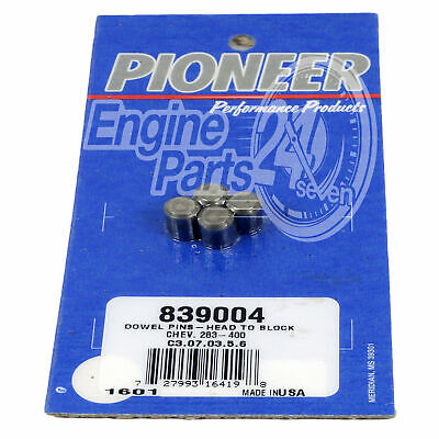 Holden V8 253 308 304 Efi 5.0L Head Dowels Pack Of 4 Pioneer 839004