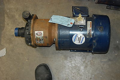 March Pump TE-8C-MD, 3hp, 208-230/460v, New Motor,  and   Repaired Pump