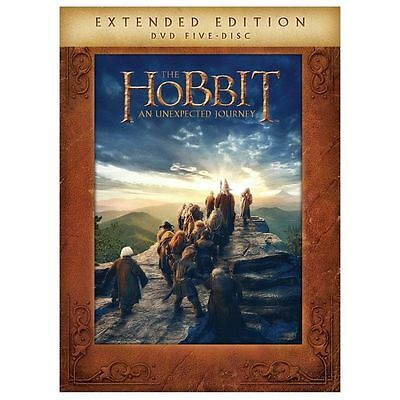 The Hobbit An Unexpected Journey (DVD, 2013, 5-Disc,Extended Edition)*NewSealed*