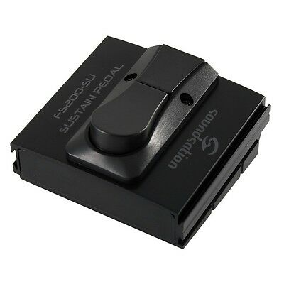 SOUNDSATION FS200-SU Sustain pedal for keyboards with select status switch