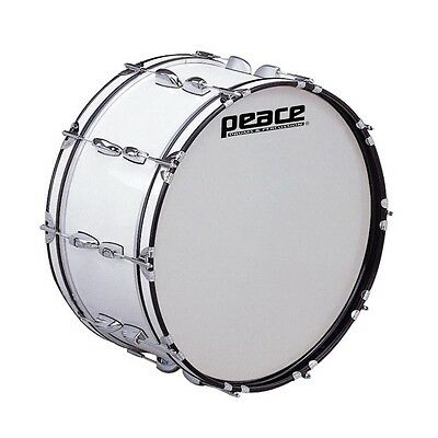 PEACE MD-2410-AL CADET series Marching Bass Drum  24'' x 10''