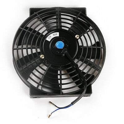 """12V Car Auto Portable Air Conditioner 10""""  Cooling Fan Wired Motor"""