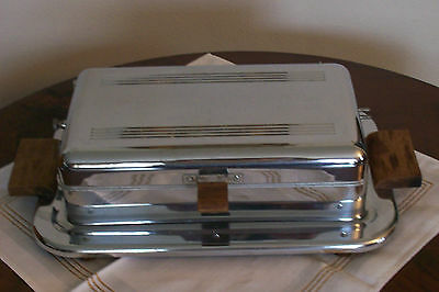 LATE DECO-CHROME SANDWICH GRILL by Westinghouse,USA  . No cord included
