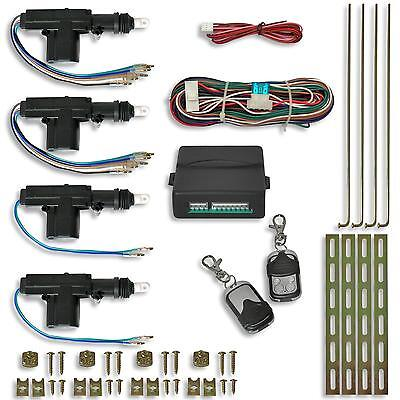 Kit Centralisation A Telecommande Plug And Play Universel + 4 Moteurs + 2 Telec