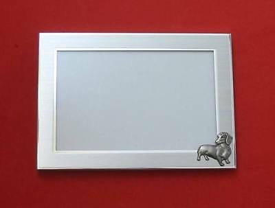 Dachshund Dog Motif 4 x 6 Photo Picture Frame Gift NEW