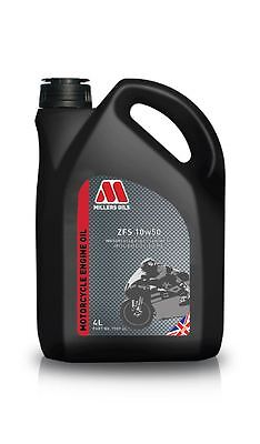 Millers Oils ZFS 10w40 Fully Synthetic 4T Motorcycle Engine Oil - 4 Litre