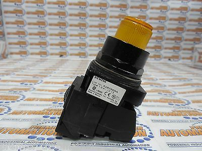 52Bt6D9A 24V N4X Full Voltage Amber Pushbutton