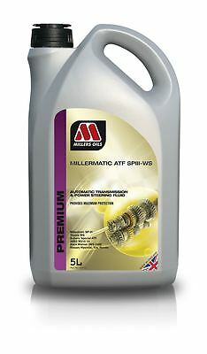 Millers Millermatic ATF +4 SP 3 III-WS Automatic Transmission Oil Fluid 5 Litre