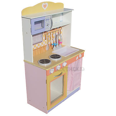 Gelato Country Style  Timber Toy Kids Kitchen Wooden Pretend Play