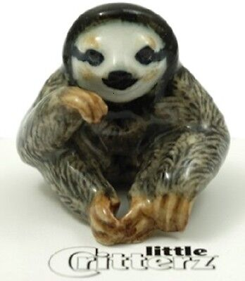 """LC983  Three Toed Sloth  """"Buttercup"""" - little Critterz (Buy 5 get 6th free!)"""