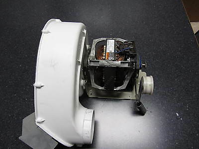 MAYTAG STACKER NEPTUNE (MLE2000AYW) DRYER MOTOR ASSEMBLY AND PULLEY