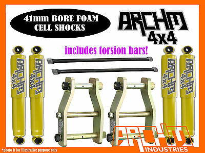 HOLDEN RC COLORADO (2008-12) ARCHM4X4 2INCH-40mm F&R SUSPENSION LIFT KIT