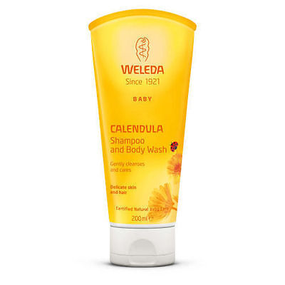 Weleda Baby Calendula Shampoo & Body Wash Natural