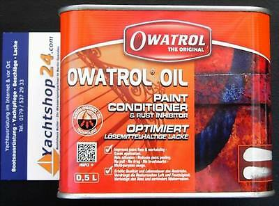 Owatrol Oil Penetrating Oil Paint Additive Rust Protection