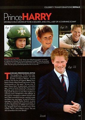PRINCE HARRY  (1 page)  2009 Picture Clipping   /d