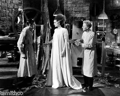 Elsa Lanchester and Colin Clive in The Bride of Frankenstein 8x10 Photo 005