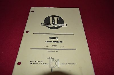 White 2-55 2-65 2-75 Tractor I&T Shop Manual BVPA