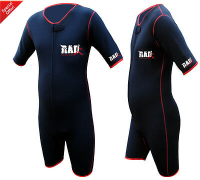 Heavy Duty RAD™  Sauna Sweat Suit Gym Boxing MMA Weight Loss Slimming Shorts UFC