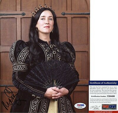 Maria Doyle Kennedy Signed 8x10 The Tudors Queen Catherine Orphan Black PSA/DNA