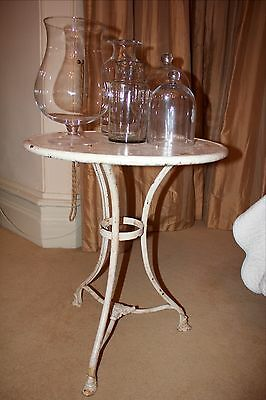 French late  19th century  patio table