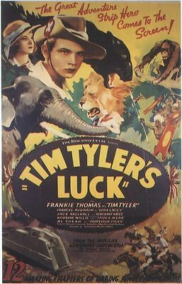 Tim Tyler's Luck - Cliffhanger Serial DVD Frankie Thomas  Frances Robinson