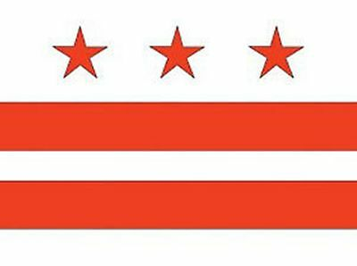 DISTRICT OF COLUMBIA The Federal City OFFICIAL US CAPITAL FLAG 5X8 FT NYLON USA