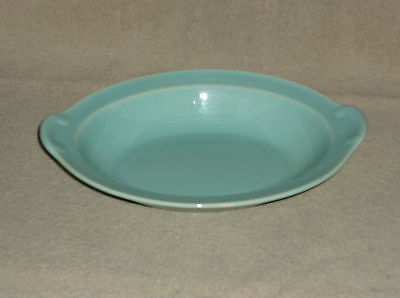 T.S.& T. LuRay Pastel Seafoam Minty Green Oval Serving Dish Bowl 10""
