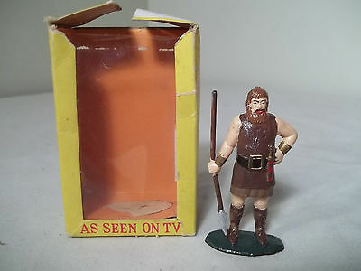 "VINTAGE Marx Toys Warriors of the World VIKING  2 3/4"" Plastic figure in box"