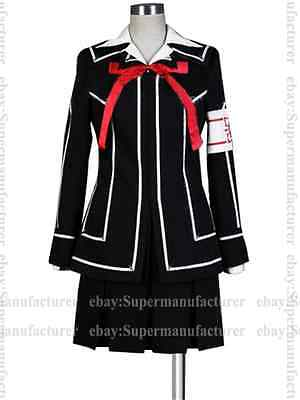 Vampire Knight Yuki Cross Yuki Cosplay Kurosu/Kuran Dress Costume #03