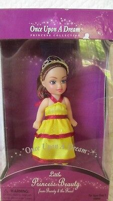 NEW ONCE UPON A DREAM PRINCESS COLLECTION-LITTLE PRINCESS BEAUTY & THE BEAST