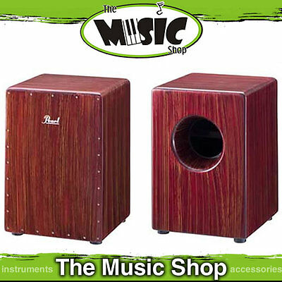 New Pearl Boom Box Cajon Drum - Artisan Red Mahogany - PCJ-633BB